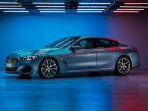 BMW 8 Series Gran Coupe Images Leaked Looks Absolutely Stunning