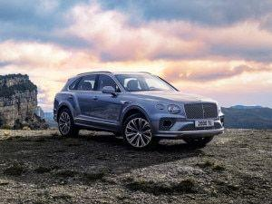 2021 Bentley Bentayga Facelift Revealed Rivals Mercedes-Maybach GLS Rolls Royce Cullinan
