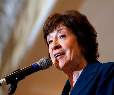 Collins says Supreme Court pick who'd overturn Roe v. Wade 'would not be acceptable'