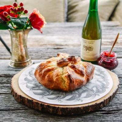 Cranberry-Apple Chutney Baked Brie