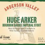 Anderson Valley Brewing Company: Huge Arker