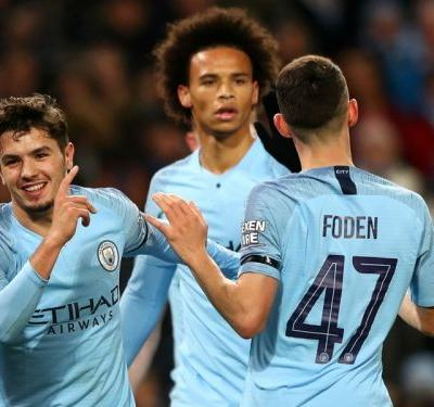 Manchester City 2 Fulham 0: Brahim Diaz leads holders into EFL Cup last eight