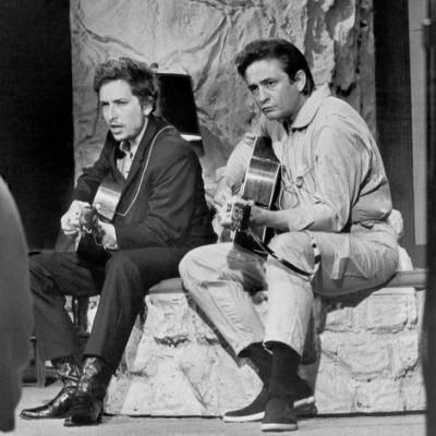 """Hear Bob Dylan & Johnny Cash's Previously Unreleased Original Version Of """"Wanted Man"""""""