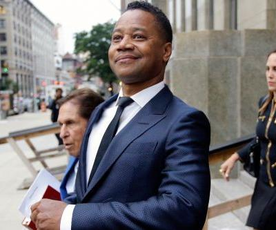 Cuba Gooding Jr. struts out of court, offers support for David Ortiz after arraignment