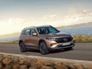 Mercedes-Benz EQB Electric SUV Unveiled At Auto Shanghai 2021