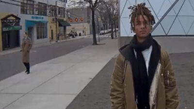 Jaden Smith Stands Still For 7 Hours In Protest Of President Trump