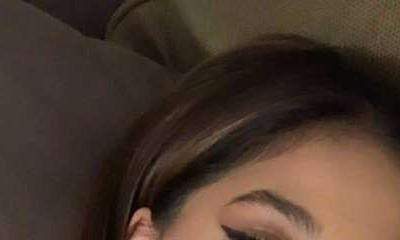 Photos: Suhana Khan flaunts her perfect winged eyeliner with popping pink nails