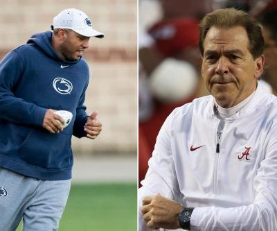 Josh Gattis got his 'butt chewed out' by Nick Saban for leaving Alabama