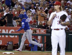 Weaver makes 1 big mistake in Angels' 5-0 loss to Jays