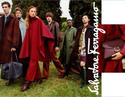 Salvatore Ferragamo Embraces 'Patchwork of Characters' for Fall '18 Campaign