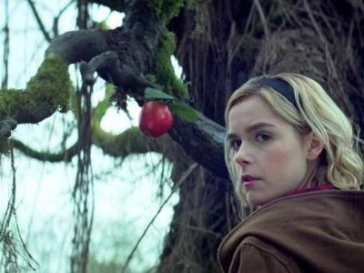 Here's a behind-the-scenes look at the Chilling Adventures of Sabrina