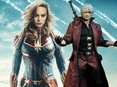 Captain Marvel made a buttload of money and Devil May Cry 5 is a buttload of fun