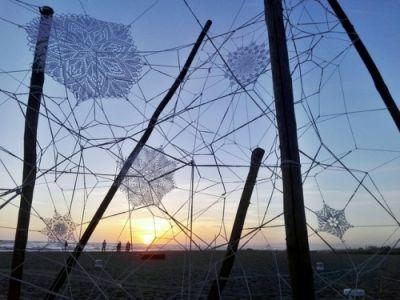 Lace Street Art by NeSpoonNeSpoon is a