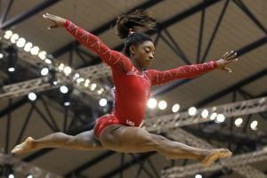 Biles wraps up remarkable worlds with 4th gold medal