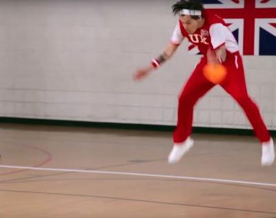 Watch Michelle Obama Nail Harry Styles In The Balls In Late Late Show Dodgeball