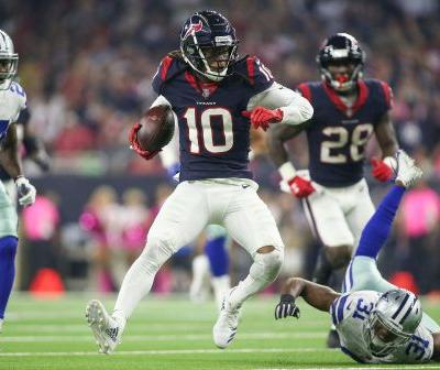 DeAndre Hopkins sets up winning kick in Houston Texans' OT victory over Dallas Cowboys