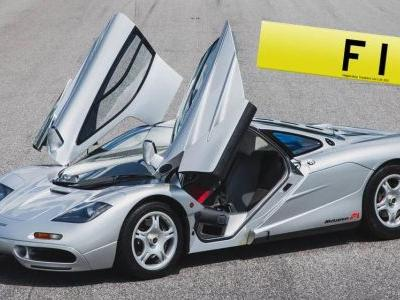 """F1"" Number Plate Has R245 Million Asking Price"