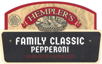 Hempler recalls pepperoni for wrong labels, undeclared milk