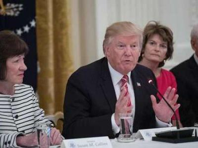 As Trump Heads To Maine, GOP Sen. Susan Collins Won't Be There To Greet Him