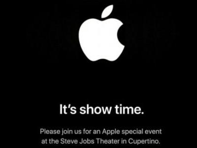 Apple confirms March 25 It's Show Time event for subscription reveals