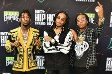 Migos Calls Donald Glover's Golden Globes Shout-Out 'An Honor'
