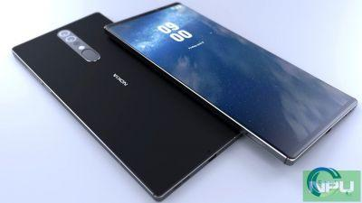 Nokia 9 prototype's hand-made image leaked in China. 13 MP Dual-Lens Camera claimed