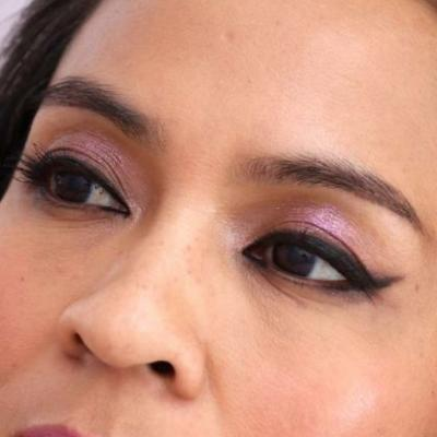 Monochromatic Makeup: Playful Pinks, and a Play on Cat Eyeliner