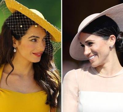 Amal Clooney is reportedly helping Meghan Markle adjust to life as a Brit - and we're shipping this friendship so hard