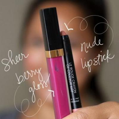 Another Way to Work Your Favorite Nude Lipstick