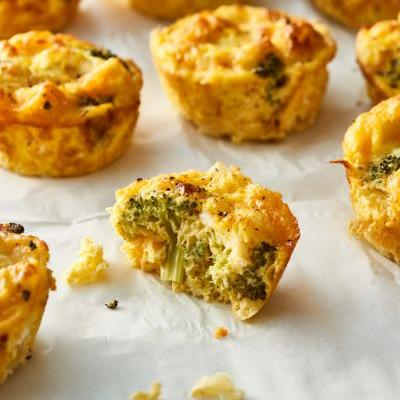 Broccoli Cheddar Egg Muffins Are the Portable High-Protein Breakfast You Need