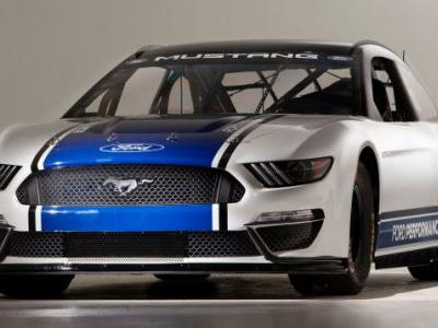 Here's the Ford Mustang That Will Race in NASCAR's Top Series Next Year