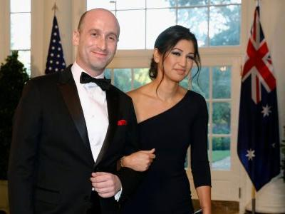 Trump attended the wedding of Stephen Miller, the staunchest immigration hardliner in the White House
