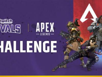Get ready for the Twitch Rivals Apex Legends Challenge