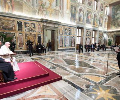 Pope denounces 'shortsighted' human activity for warming