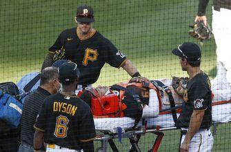 Pirates' IF Evans out for the year after collision