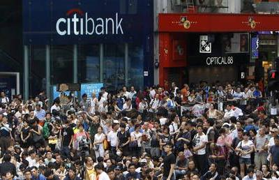 Hong Kong banks say threat of massive cash withdrawals by protesters won't cause problems