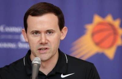 Suns fire general manager Ryan McDonough days before start of season