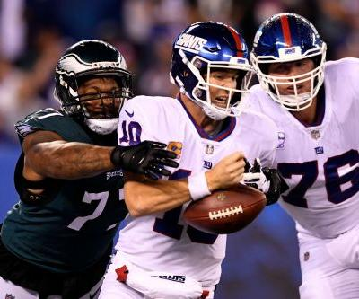 Defending champion Philadelphia Eagles make New York Giants look like chumps