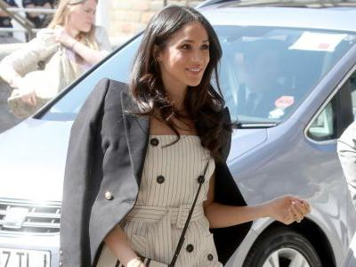 Meghan Markle Wore a Thing: Altuzarra Dress Edition