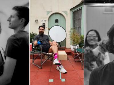 This Photographer Turned His Front Door Into a Camera to Capture COVID Portraits