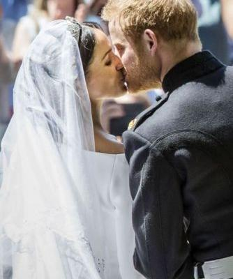 Prince Harry and Meghan Markle's Most Amazing Kissing