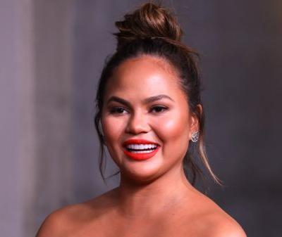 Chrissy Teigen's Adorable Baby Bump Finally Made an Appearance on the Red Carpet!