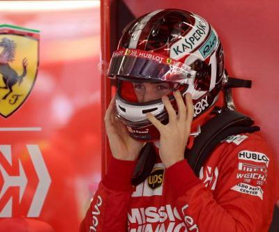Vettel quickest in first practice for the Chinese Grand Prix