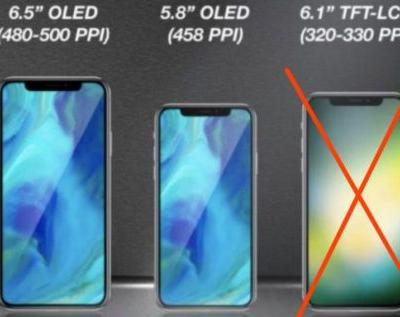 No LCD iPhone next year and beyond