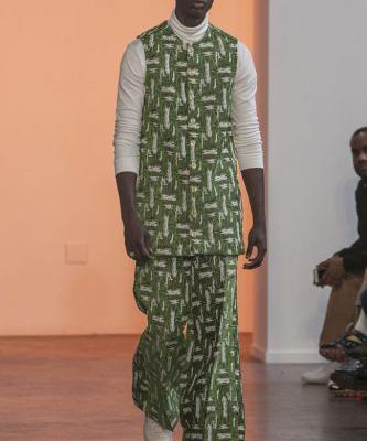 Kenneth Nicholson F/W 2020 Collection From Grandma's Couch