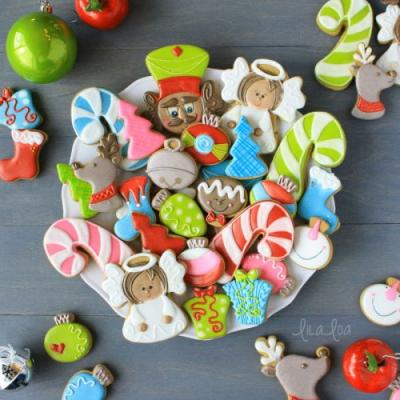 How To Make Decorated Christmas Angel Sugar Cookies