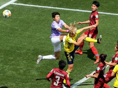 Women's World Cup 2019: Sweden secures spot in last 16 with win over Thailand