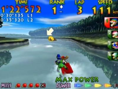 Nintendo Could Be Working on a New Wave Race