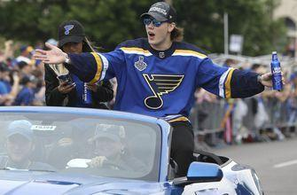 Blues sign forward Oskar Sundqvist to four-year extension
