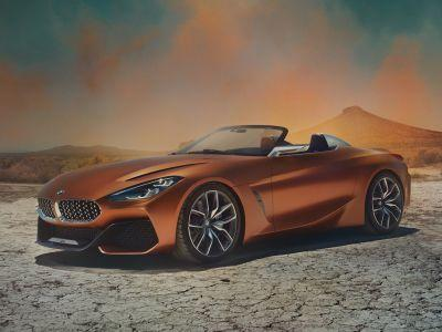 Have your first look at BMW's next great sports car